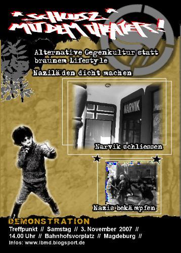 Flyer für Aktionswoche